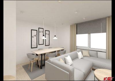 Dům Praha Obývací místnost 1-min