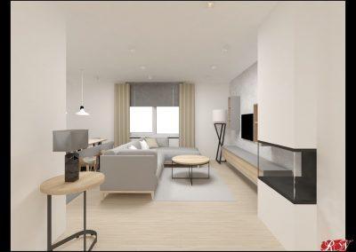Dům Praha Obývací místnost 2-min