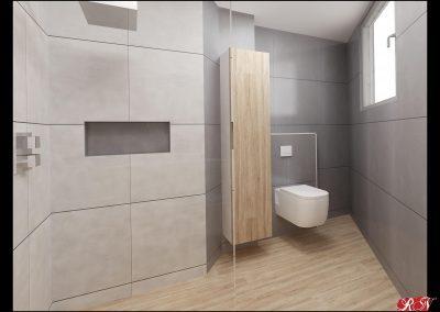 Praha vila pro hosty koupelna 2-min