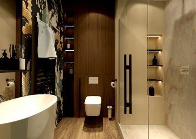 Návrh koupelny v Brně pohled II