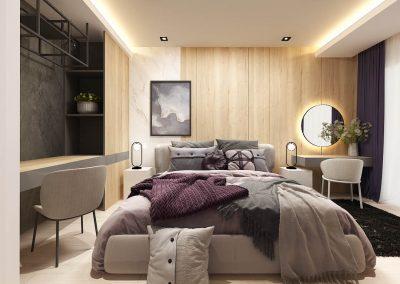 Ložnice v novostavbě 1